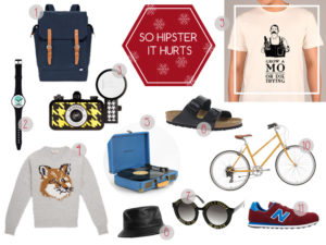 Christmas Gift Guide: For The Hipster