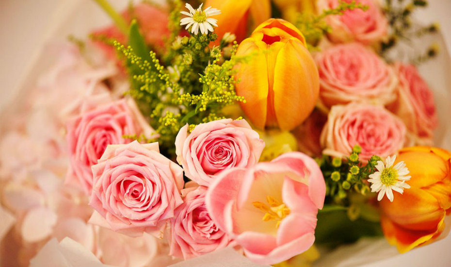 The flower co | best florists in SG
