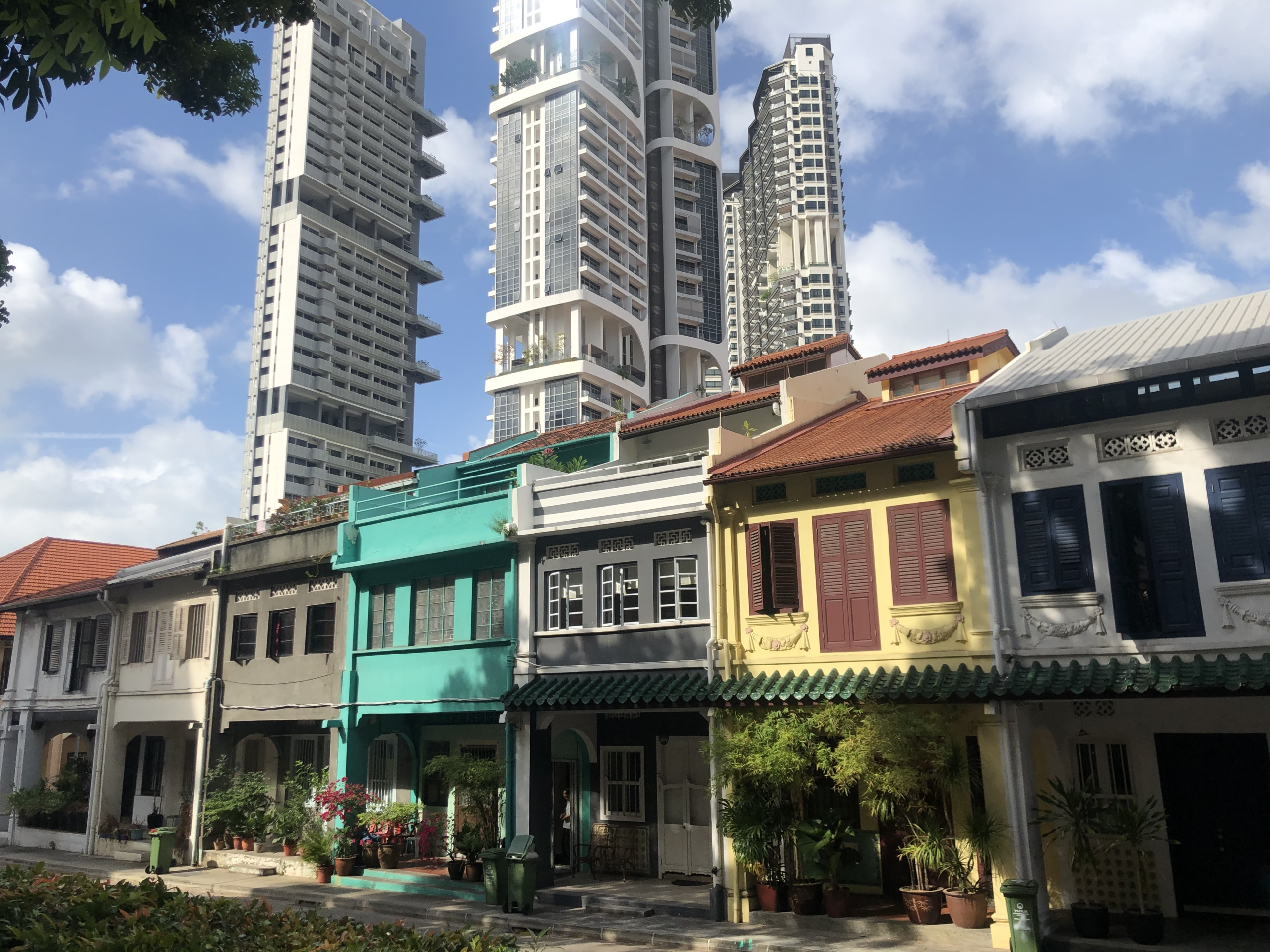 Everton Park: Shophouses