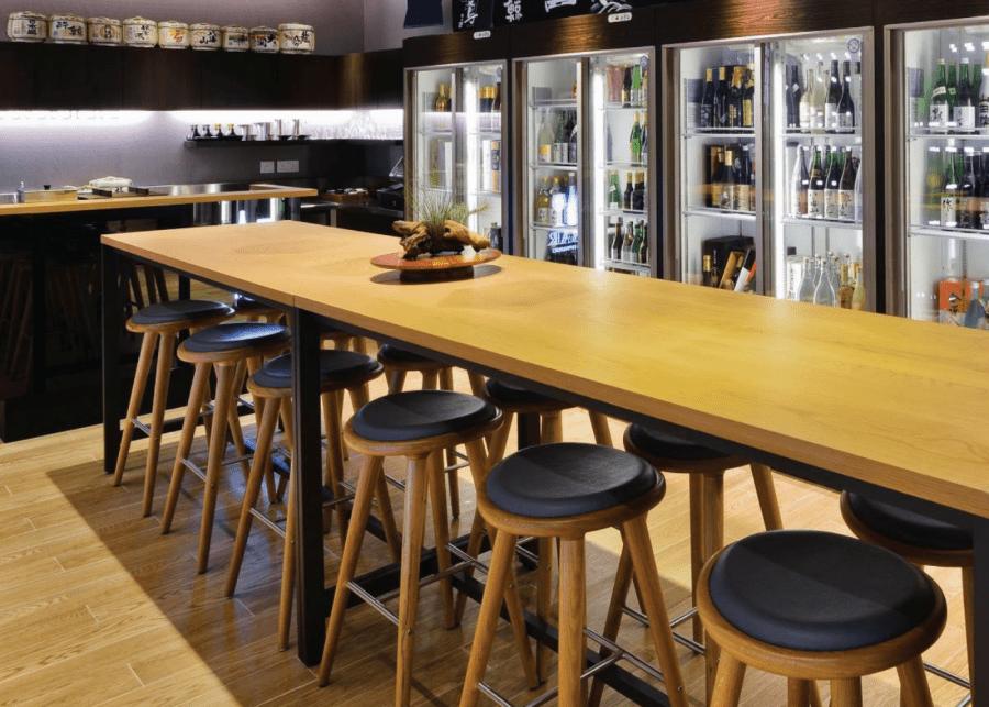 Sake bars in Singapore | Bar Ippudo