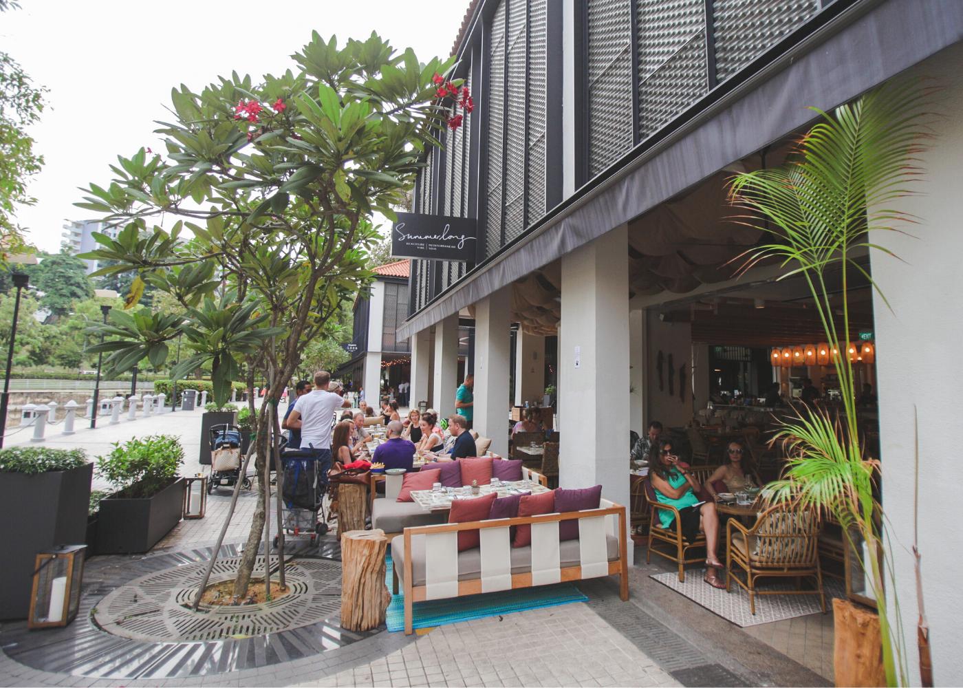 summerlong restaurant | Alfresco dining in Singapore