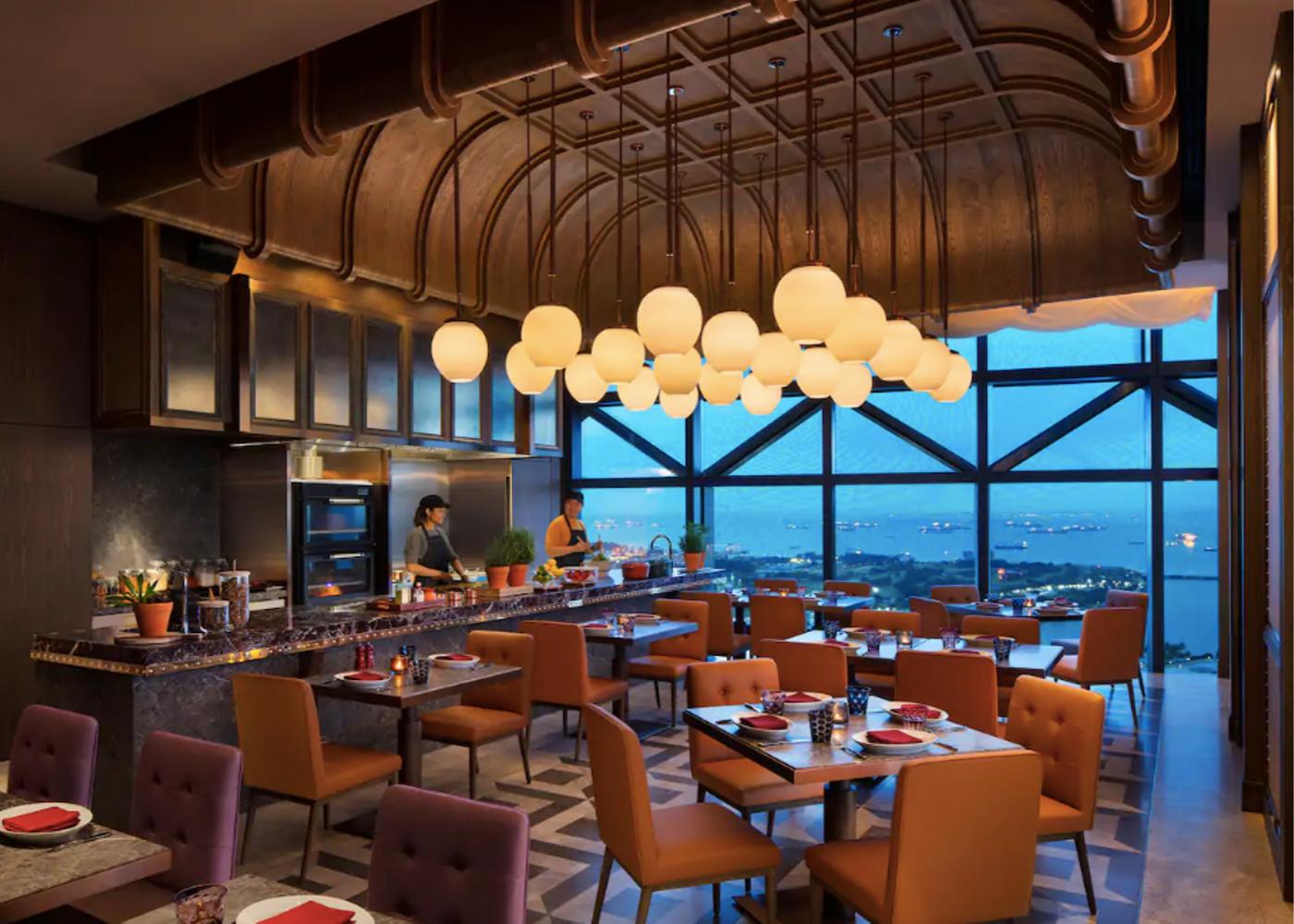 Rooftop restaurants in Singapore
