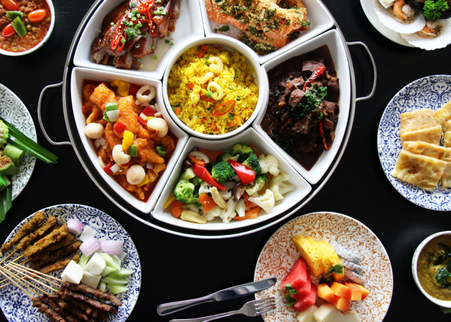 Halal buffets in Singapore | Photography: Asian Market Cafe