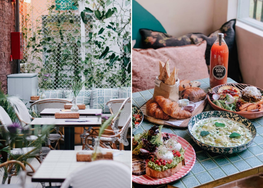 Tropi-cool cafes if you're all about that garden life