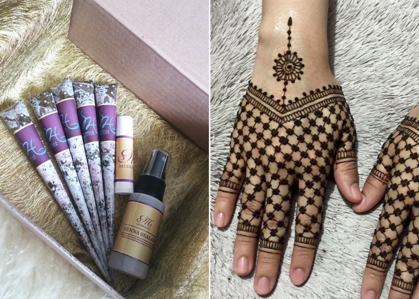 Henna artists in Singapore: FauzellAArtistry