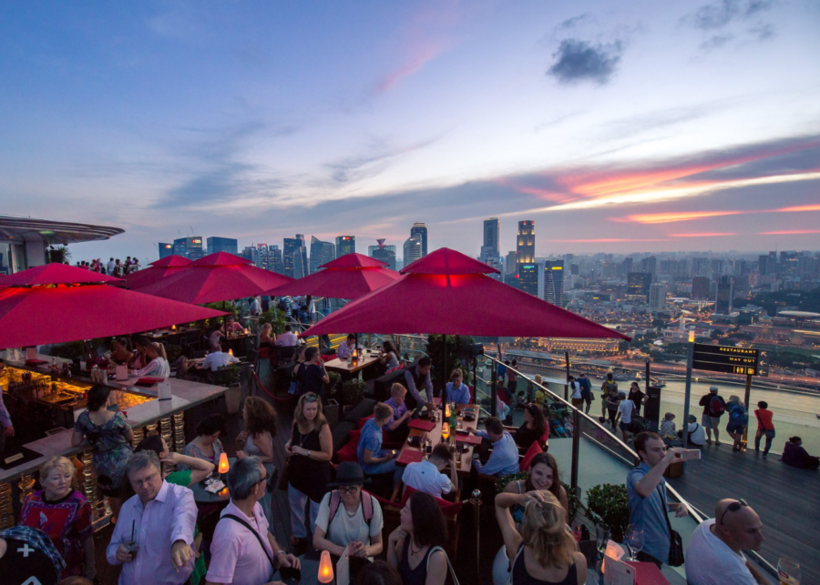 Ce La Vi is one of the most iconic rooftop bars in Singapore | things to do in singapore