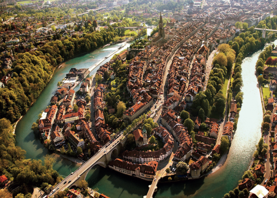 72 hours in Bern, Switzerland: Swim in a turquoise river, explore an historic town, eat in a luxe underground cellar and more