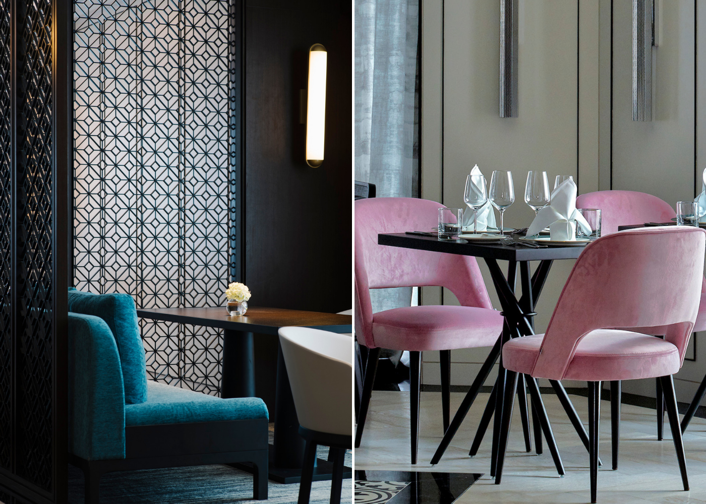 Hot new menu: Tablescape review | Neo-classical interiors
