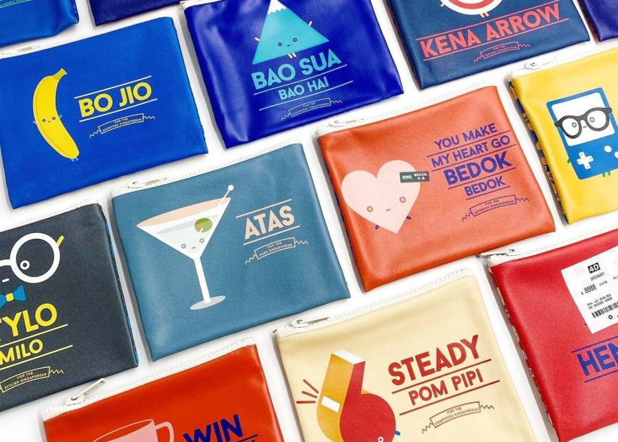 singlish | independent market pouches