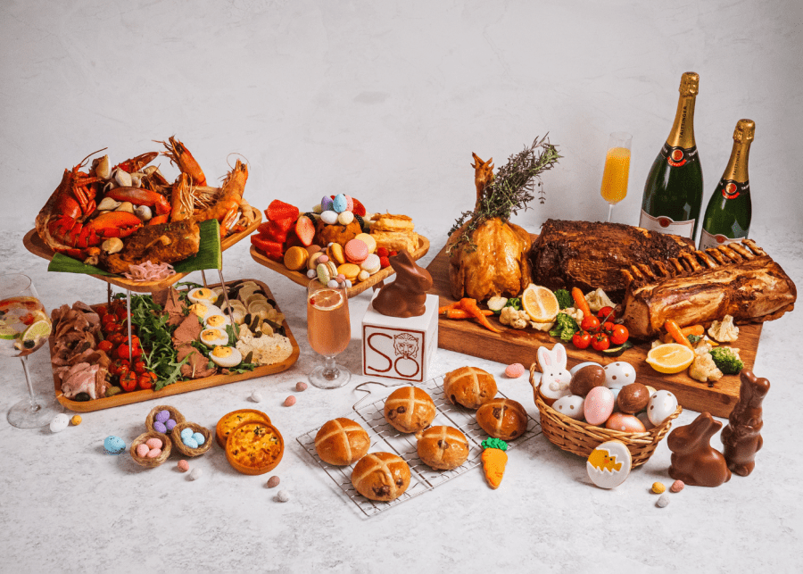 Get egg-cited for Easter in Singapore with indulgent brunches, sumptuous dinners and delish takeaways
