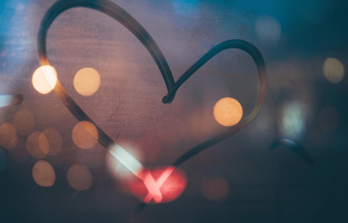 heart on window | how to help covid-19