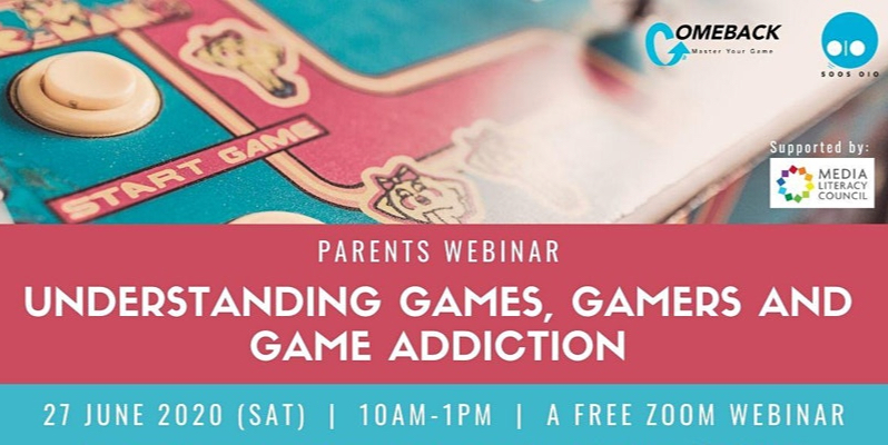 Parents Webinar: Understanding Games, Gamers & Game Add