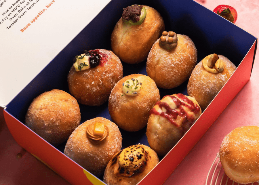 Donuts in Singapore: Sourbombe