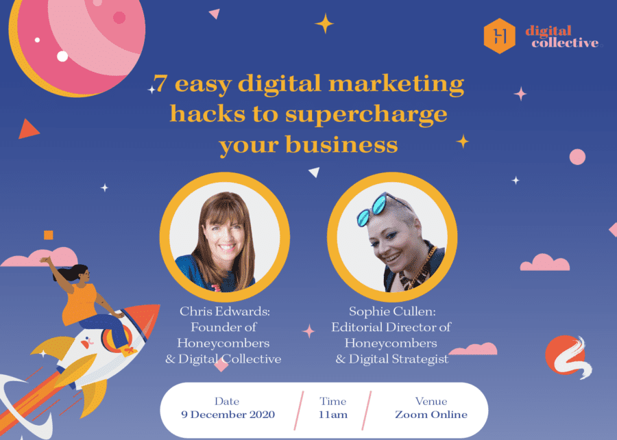 7 easy digital marketing hacks to supercharge your business