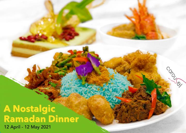 Break Fast with a Nostalgic Dinner Spread at Carousel this Ramadan