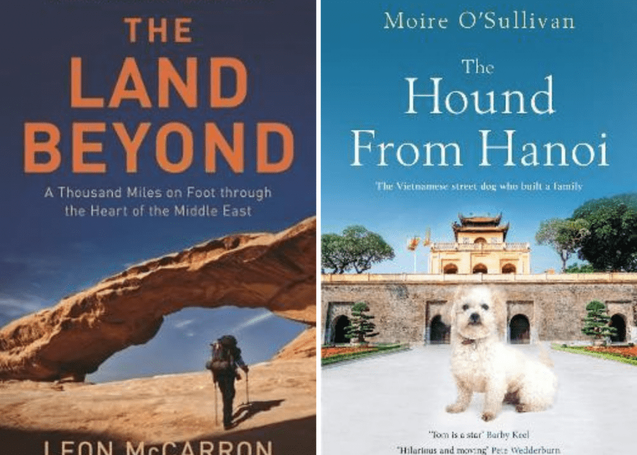 Bestseller books | The Hound From Hanoi and The Land Beyond