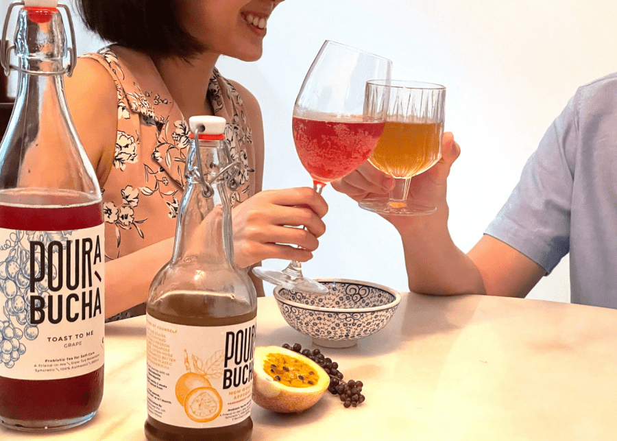 healthy drinks from pourabucha