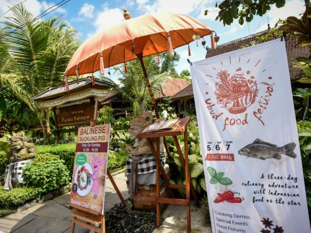 Events Festivals in Bali: Ubud Food Festival