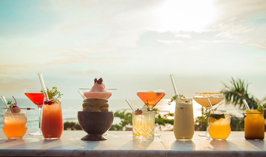 best sunset bar in Bali - Ji Terrace by the Sea Tugu Hotel Canggu