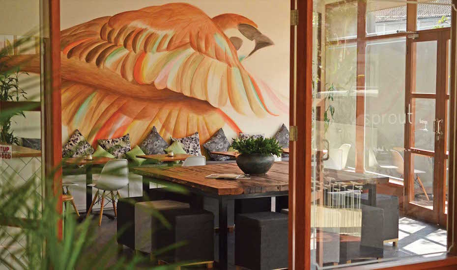 Sprout Cafe - a family-friendly restaurant in Canggu, Bali, Indonesia