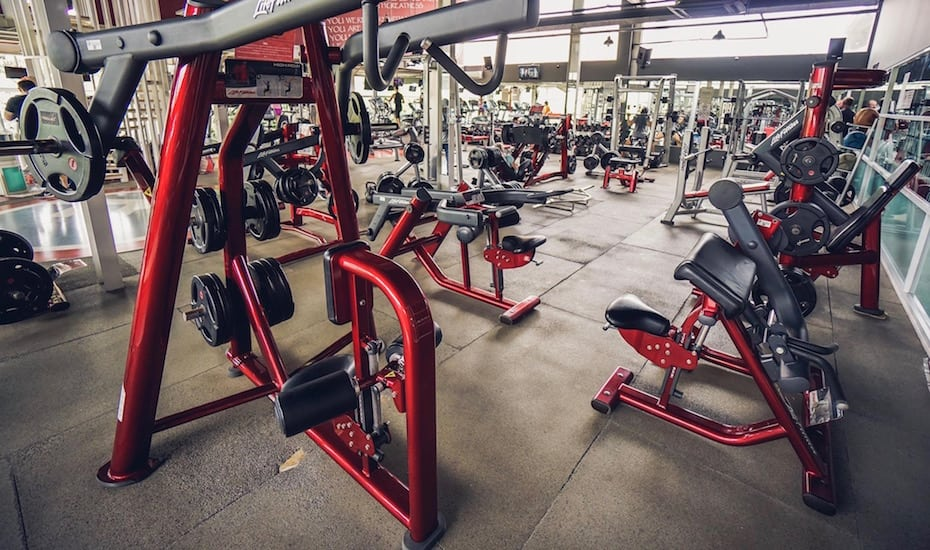 Best gyms in Bali - Rai Fitness Kuta