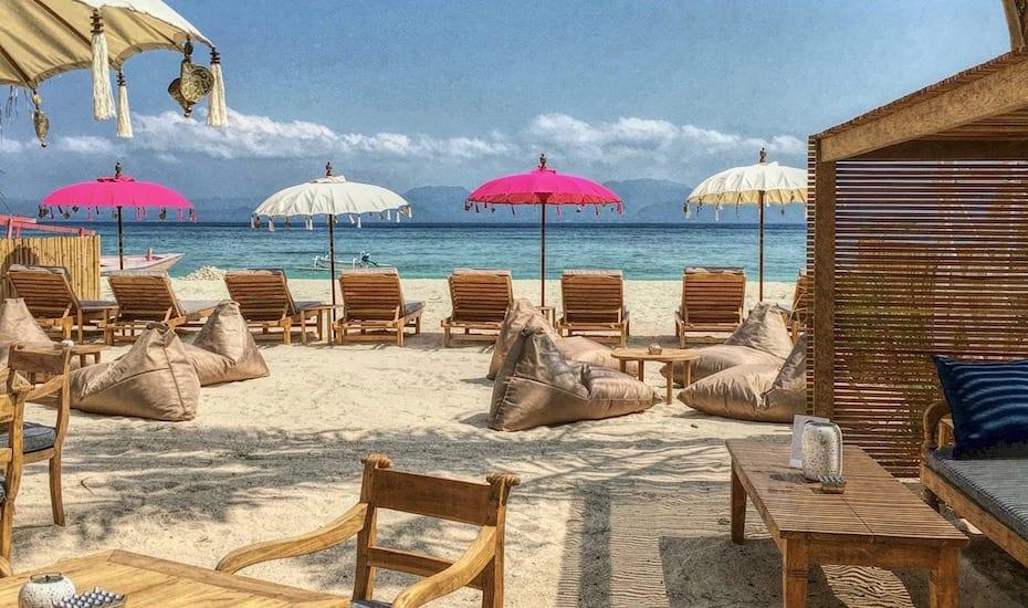 Hot New Tables in Bali - EXIT Nusa Lembongan