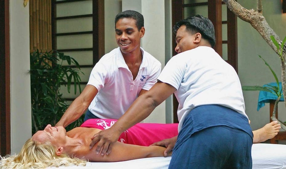 Four Hand Massage at Jari Menari in Seminyak - one of the best spas in Bali, Indonesia