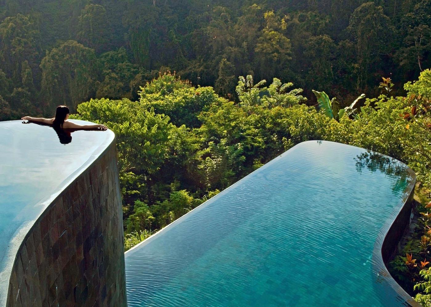Best Ubud Hotels - Hanging Gardens of Bali - infinity pool