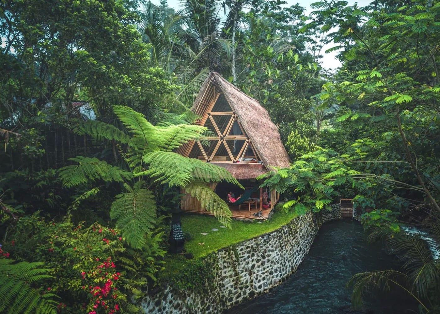 Hideout bamboo houses | Sideman Valley Bali