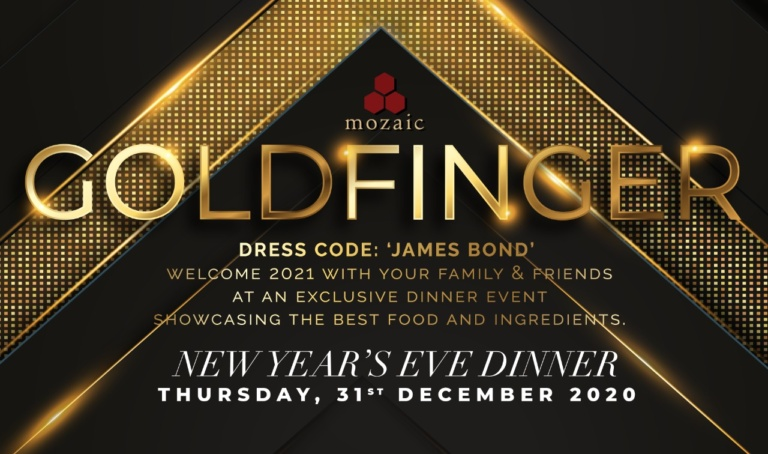 New Year's Eve Goldfinger