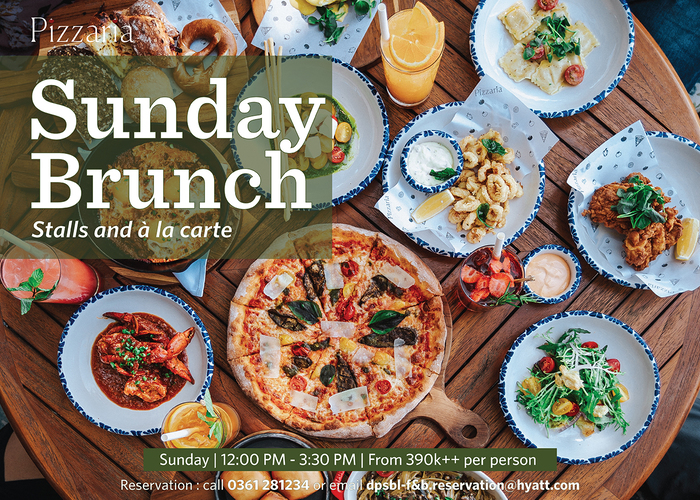 Beachfront Sunday Brunch at Pizzaria