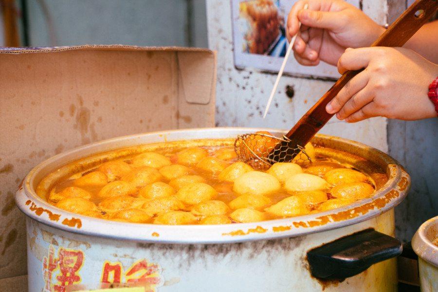 Tai O Hong Kong culture heritage food day trip Fishball