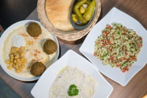 Fans of Middle Eastern food will want to eat all the tasty falafel and hummus at Falafel TLV