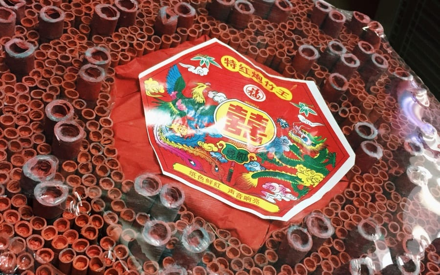 chinese new year decorations symbolism firecrackers