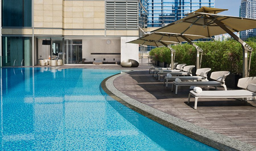 staycation Hong Kong hotel EAST swimming pool
