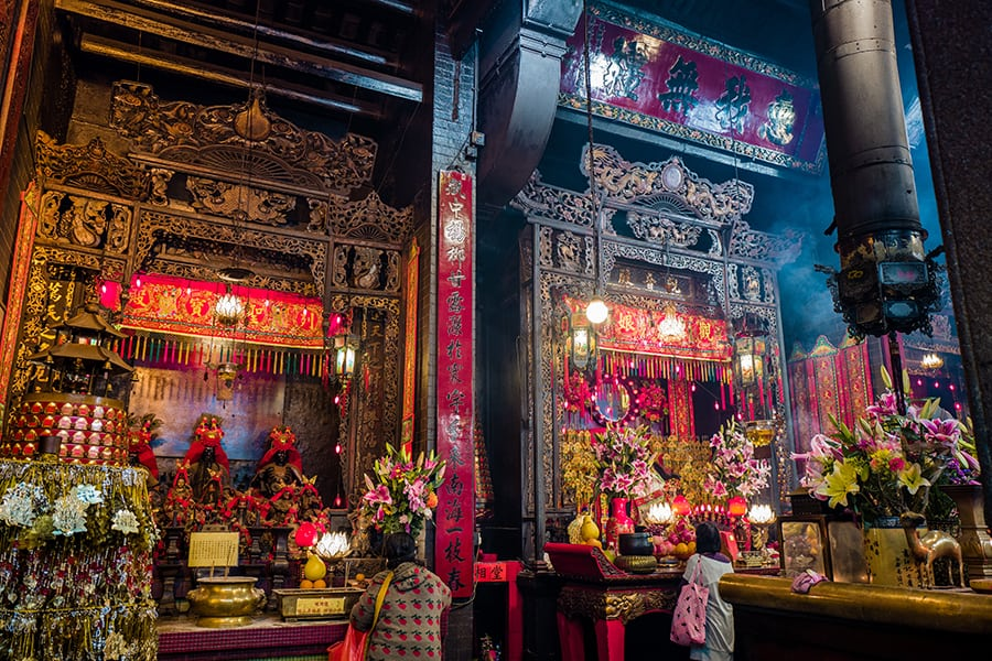 Kwun Yam Temple Hung Hom temples in Hong Kong Chinese temples