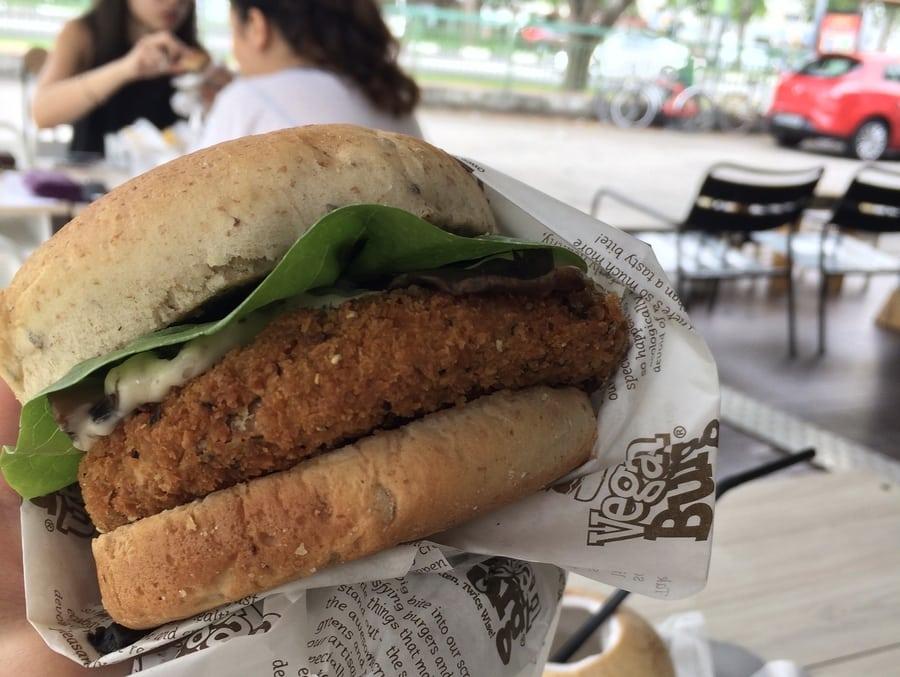 VeganBurg vegetarian restaurants in Singapore