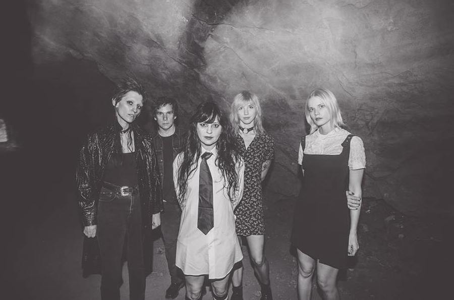 female-fronted bands indie music Death Vallery Girls