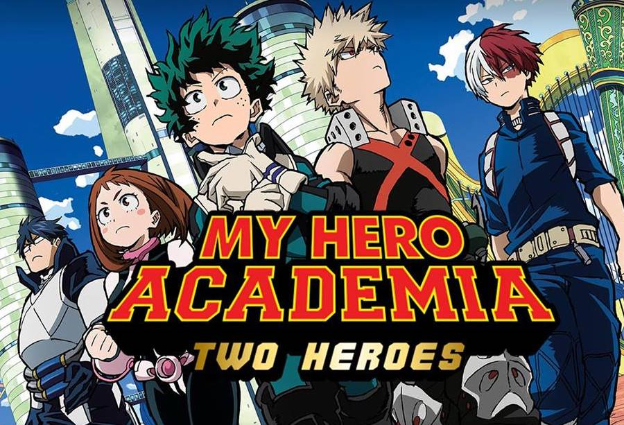 best anime Japanese cartoons 2010s My Hero Academia