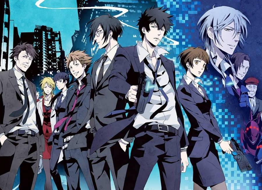 best anime Japanese cartoons 2010s Psycho Pass
