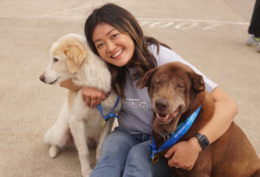Foster Parent Programme by SPCA volunteer with kids in Hong Kong