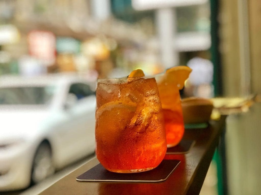 Ask for Alonzo Quarry Bay happy hour drinks
