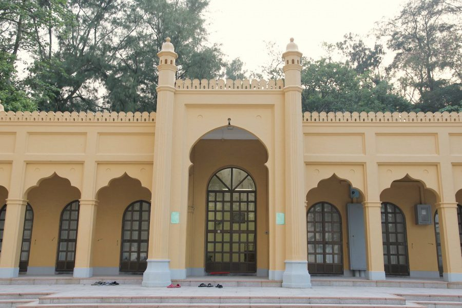 the exterior of stanley mosque